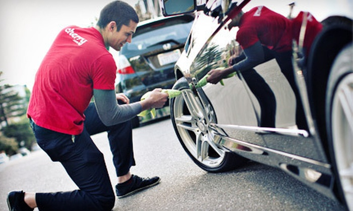 Cherry.com: $10 for an On-Location Car Wash with Interior Cleaning and Air Freshener from Cherry.com ($29.99 Value)