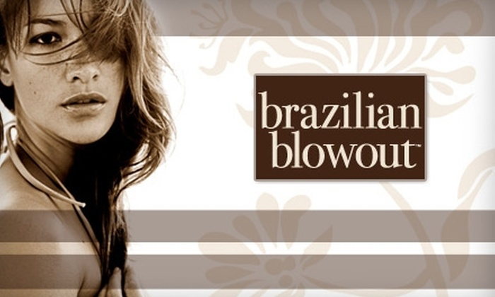 Karen @ Grapevine Salons - East Oak Hill: $150 for a Tangle-Taming Brazilian Blowout from Karen @ Grapevine Salons ($300 Value)