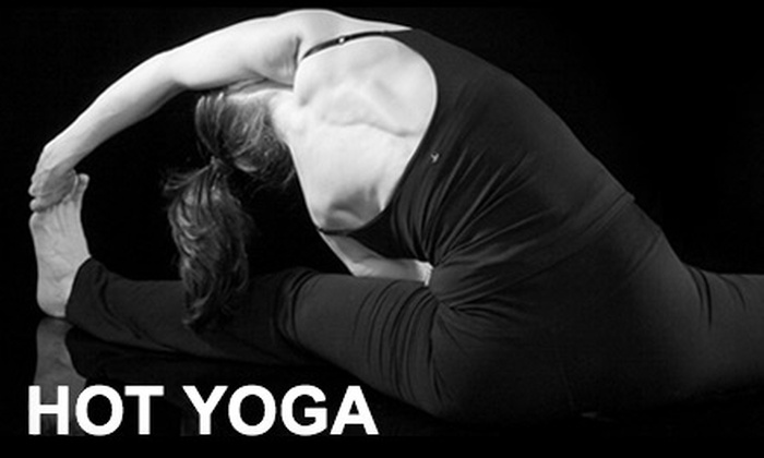 Hot Yoga - Cathedral - Wesley Heights - McLean Gardens: $25 for Five Drop-in Classes at Hot Yoga ($90 Value)
