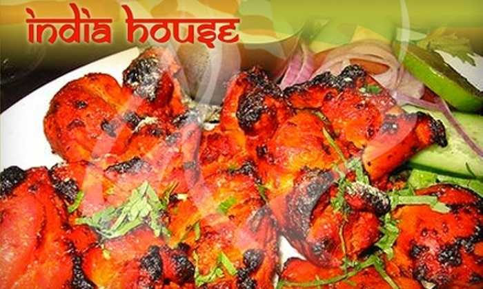 India House - Folsom: $20 for $40 Worth of Indian Cuisine and Beverages at India House