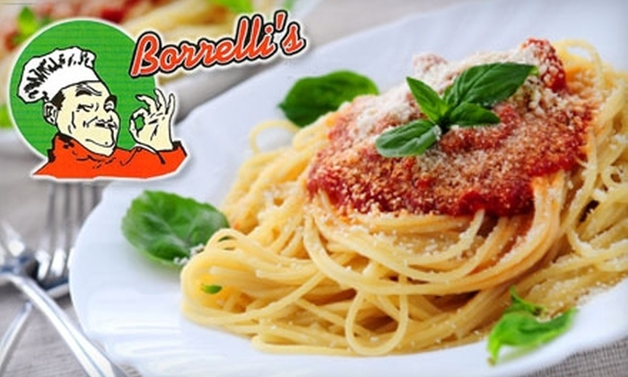 Borrelli's - East Meadow: $15 for $30 Worth of Hearty Italian Fare and Drinks at Borrelli's Restaurant