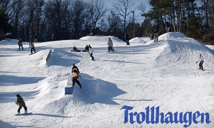 Trollhaugen - Osceola: $25 for One Lift Ticket (Up to $41 Value) or $30 for Lift Ticket, Equipment Rental, and Introductory Skiing Lesson (Up to $67 Value) at Trollhaugen in Dresser