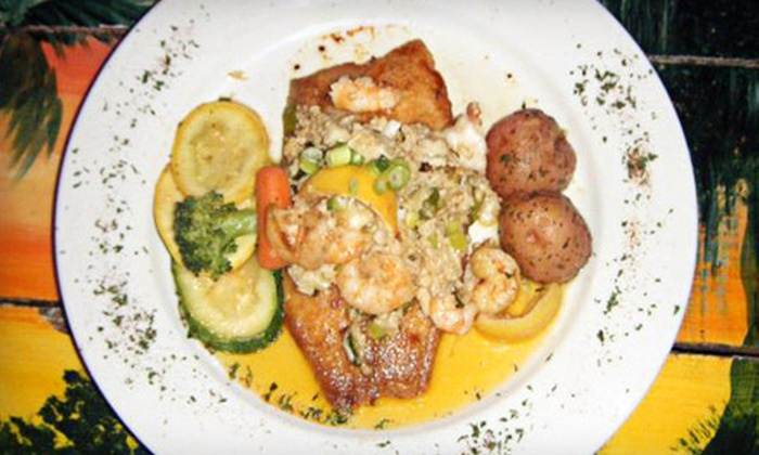 Sammy's Seafood Restaurant - French Quarter: $25 for $50 Worth of Cajun and Creole Cuisine at Sammy's Seafood Restaurant