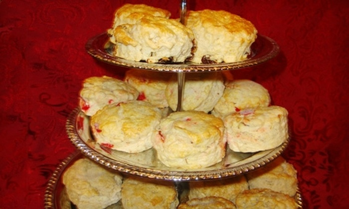 Shakespeare's Corner Shoppe - Midtown: $10 for 14 Plain or Raisin Scones or 12 Specialty Homemade Scones at Shakespeare's Corner Shoppe ($20.97 Value)