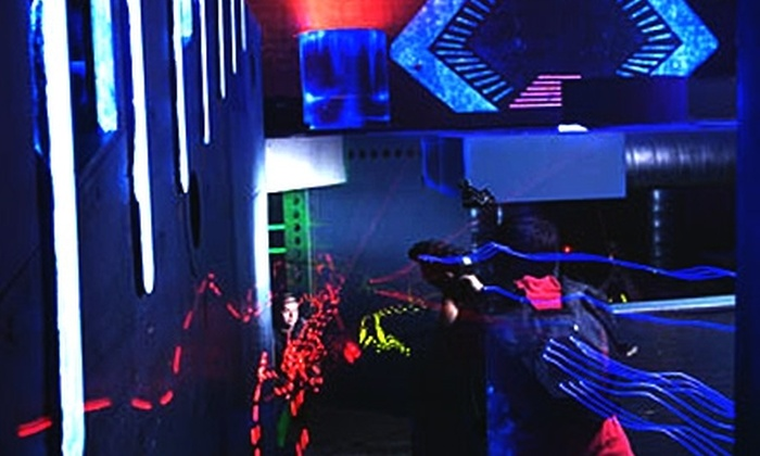 LaserNation & Ultrazone - Multiple Locations: $9 for a Three-Game Laser Tag Pass at LaserNation in Sterling or UltraZone in Baltimore (Up to $19.75 Value)