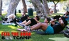 Feel the Burn Boot Camp - Multiple Locations: $30 for One-Month Membership at Feel The Burn Bootcamp ($195 Value)