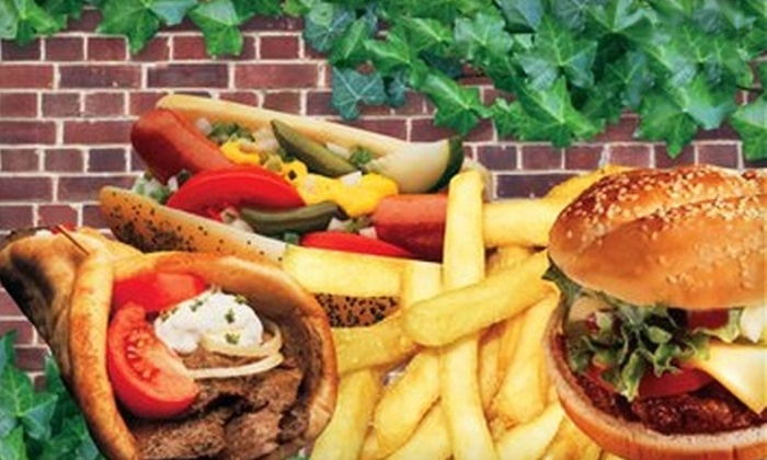 Fat Lou's - Pembroke Park: $6 for $12 Worth of Chicago-Style Fare and Drinks at Fat Lou's in Pembroke Park