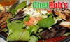 Chef Rob's Caribbean Cafe - Sandy Springs: $15 for $35 Worth of Caribbean Cuisine and Drinks at Chef Rob's Caribbean Cafe in Sandy Springs