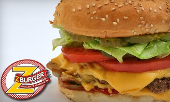 Z-Burger - AU Park - Friendship Heights - Tenley: $7 for $15 Worth of Burgers, Milkshakes, and More at Z-Burger
