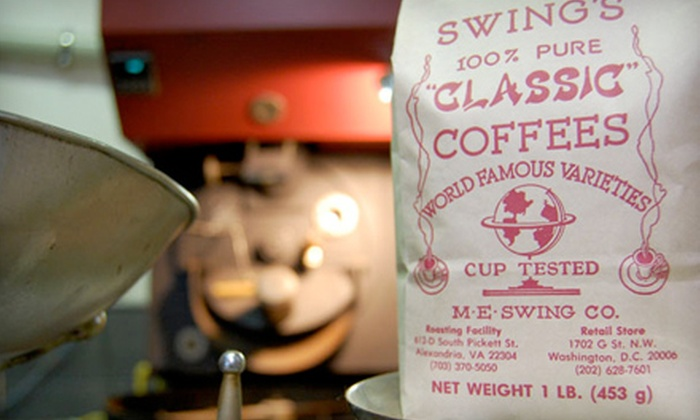 M.E. Swing Company: Specialty Coffee Products or Sampler Package from M.E. Swing Company