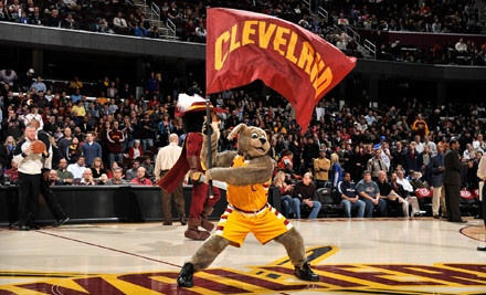 Cleveland Cavaliers vs. Toronto Raptors on 12/26 at 7PM & Miami Heat on 2/17 at 7:30PM: Upper-Level Curve Seating - Cleveland Cavaliers in Cleveland