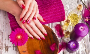 Lip Couture: Full-Body Spray Tan and Manicure with Polish at Lip Couture (52% Off)