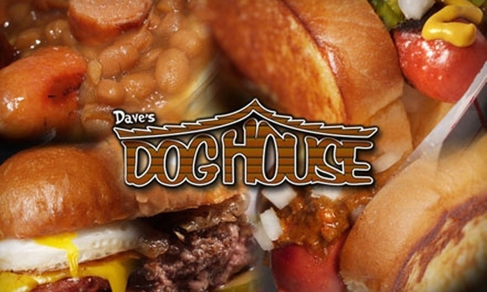 Dave's Doghouse - Downtown Tempe: $5 for $10 Worth of Hot Dogs, Sliders, and More at Dave's Doghouse