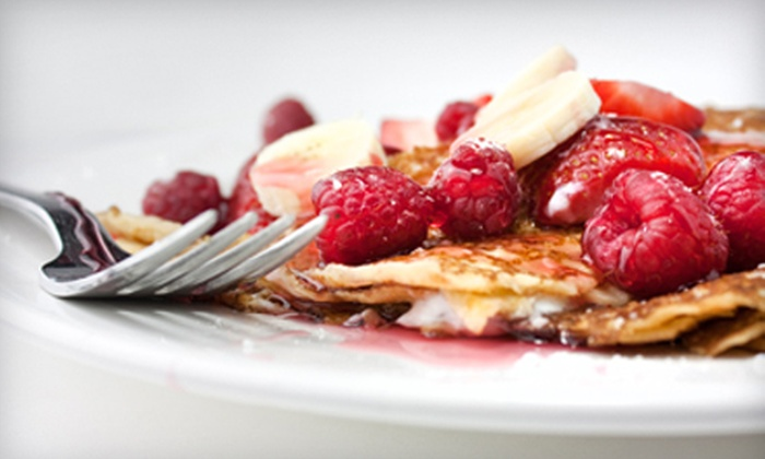 Crepes on Columbus - Crepes on Columbus: $15 for $30 Worth of European Fusion Fare at Crepes on Columbus