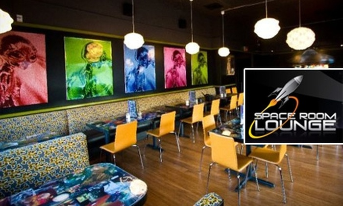 Space Room Lounge - Richmond: $10 for $20 Worth of Fun Fare and Drinks at Space Room Lounge