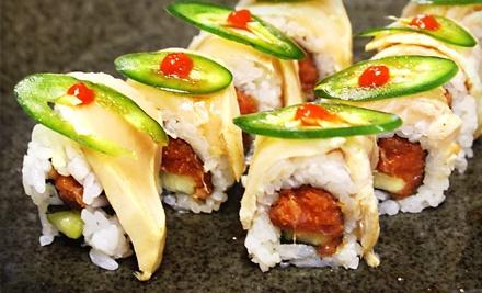 $25 Groupon to Sushi Hayashi - Sushi Hayashi in Tampa