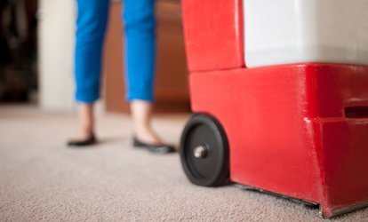 image for Deep Carpet Cleaning for Two Rooms or the Whole House from Carpet Boss Restoration (Up to 61% Off)