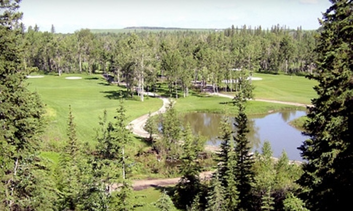River Spirit Golf Club - Calgary: $50 for a Swing Analysis and 18 Holes of Golf at River Spirit Golf Club (Up to $127 Value)