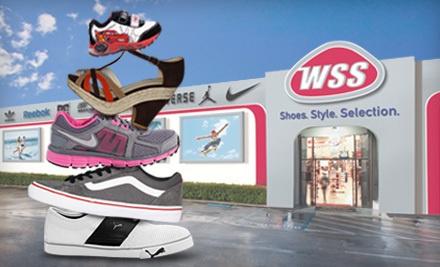 $40 Groupon to WSS Footwear - WSS Footwear in