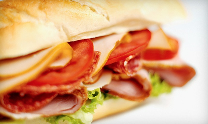 Larry's Giant Subs - Lubbock: Catering Platter or $5 for $10 Worth of Subs at Larry's Giant Subs (Up to 56% Off)