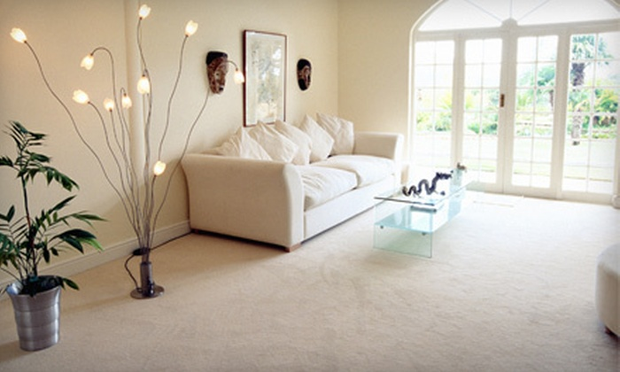 So White Carpet Cleaning - Lake Balboa: Carpet-Cleaning Package for Two Rooms, Closets, and Hallway or Three Rooms from So White Carpet Cleaning (Up to 55% Off)