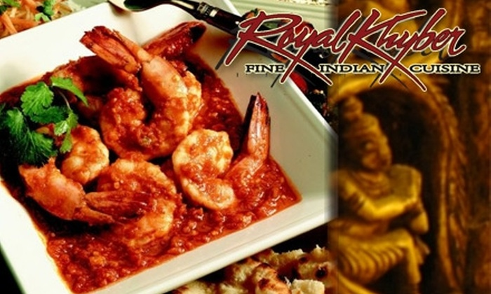 Royal Khyber - Costa Mesa: $20 for Up to $45 Toward Indian Lunch or Dinner at Royal Khyber (or $9 for Up to $17.95 Toward Brunch)