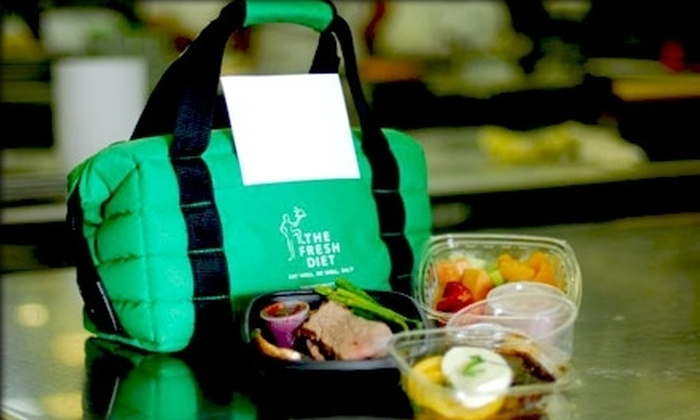The Fresh Diet: $29 for Three Meals and Two Snacks ($59.99 Value) or $399 for Two Weeks of Meals ($769.86 Value) from The Fresh Diet