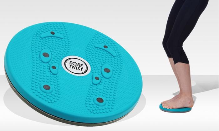 Core Twist Abdominal-Trimming Foot-Reflexology Disc: Core Twist Abdominal-Trimming Foot-Reflexology Disc. Free Returns.