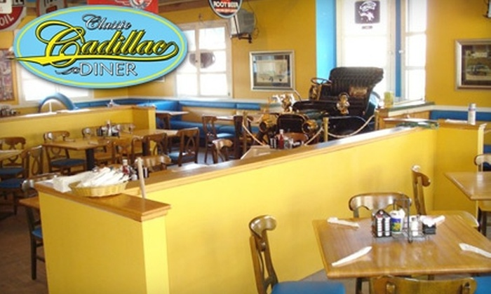 Classic Cadillac Diner - Lino Lakes: $10 for $20 Worth of Comfort Fare at Classic Cadillac Diner in Lino Lakes