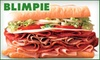 Blimpie - Multiple Locations: $5 for $12 Worth of Deli Fare at Blimpie. Choose From Two Locations.