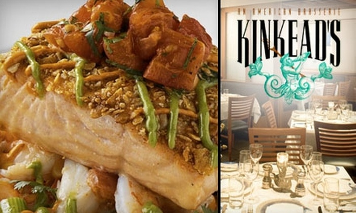 Kinkead's Restaurant - Foggy Bottom - GWU - West End: $25 for $50 Worth of Seafood and Drinks at Kinkead's Restaurant