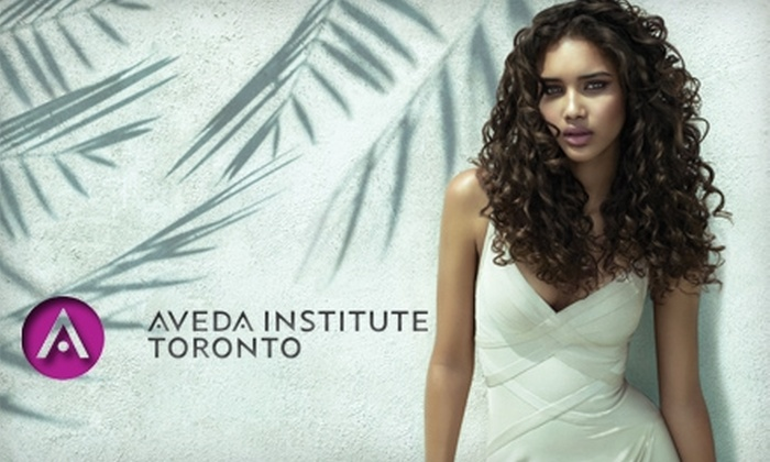 Aveda Institute - Downtown Toronto: $25 for $50 Worth of Hair Services at Aveda Institute Toronto