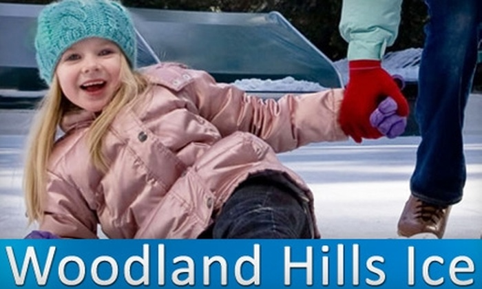 Woodland Hills Ice - Warner Center: $15 for All-Day Ice Skating, Skate Rental, and Hot Chocolate for Two at Woodland Hills Ice (Up to $36 Value)