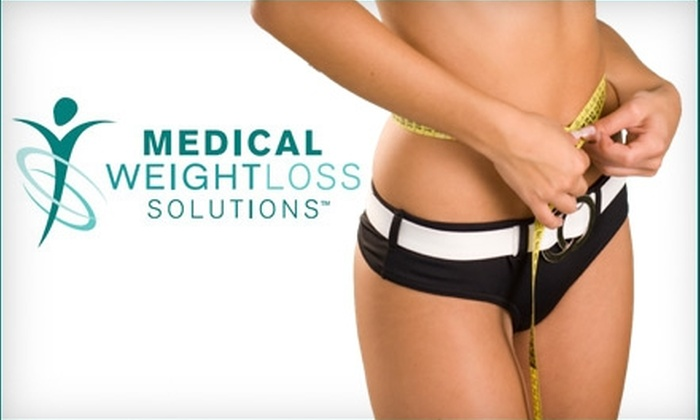 Medical Weight Loss Solutions - Chelsea: $99 for Weight Loss Program and Four Lipotropic Injections at Medical Weight Loss Solutions ($458 Value)