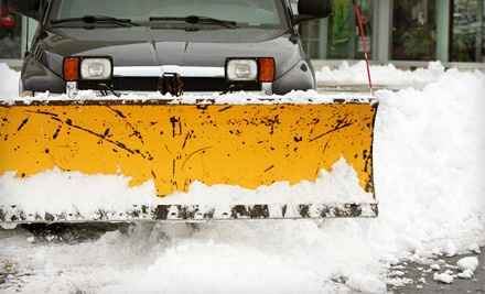 1 Residential Snow-Removal Session (a $40 value) - Moonlight Lawn & Landscape in