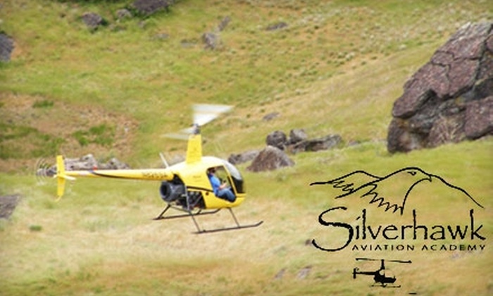Silverhawk Aviation Academy - Caldwell: $99 for a One-Hour Helicopter Lesson for One or a 15-Minute Copter Tour for Up to Three at Silverhawk Aviation Academy in Caldwell (Up to $250 Value)