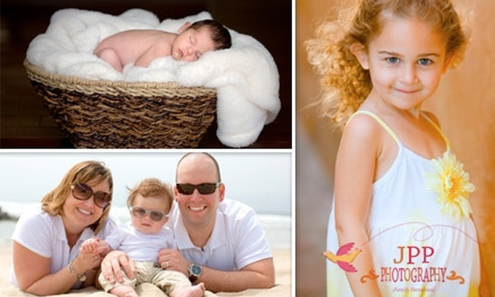 "JPP Photography - Orange County: $50 for a One-Hour Photography Session and One Retouched 8""x10"" Print from JPP Photography"