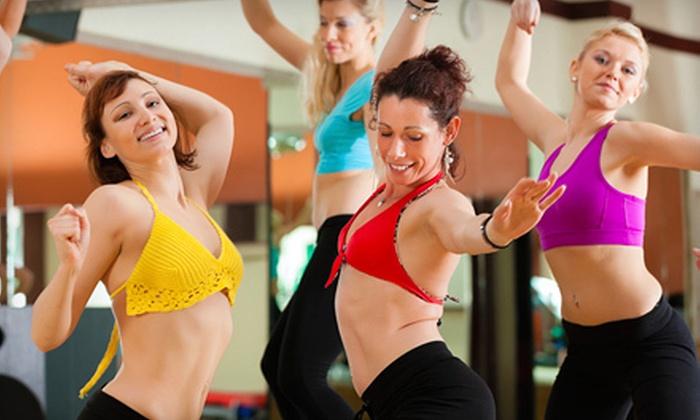 Dance Code Studio - Central McDougall: Body Beautiful Burlesque Program, 10 Burlesque Classes, or 10 Zumba Classes at Dance Code Studio (Up to 88% Off)