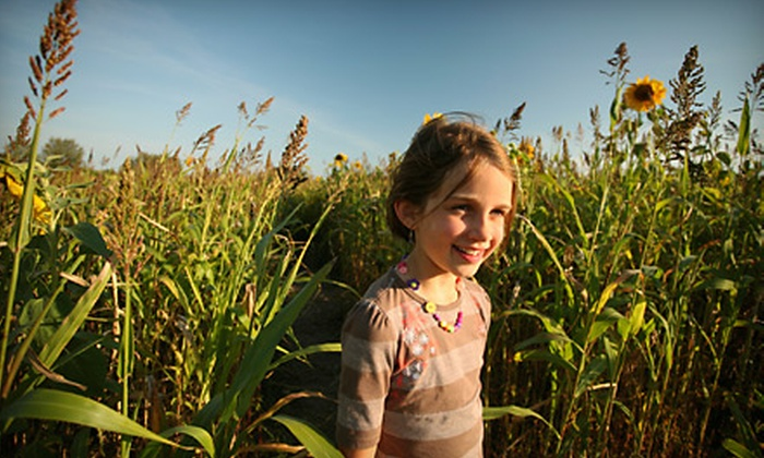 Pirate Adventure - Adamstown: Admission to a Pirate Corn Maze and Hayride for Two or Four at Pirate Adventure in Adamstown, MD