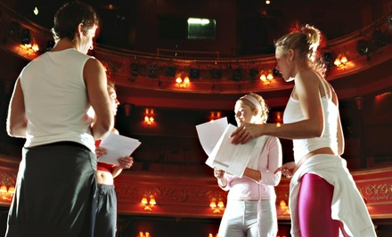 Up to 75% Off One Month of Acting Classes  at The Film Set
