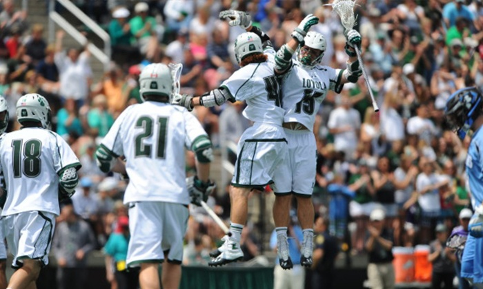Loyola Greyhounds Men's Lacrosse  - Ridley Athletic Complex: Loyola University Maryland Men's Lacrosse Game (February 27–March 26)