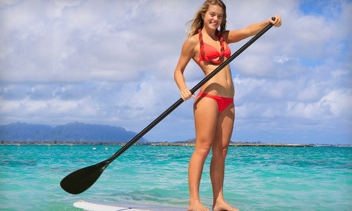 Tampa Bay SUP - Multiple Locations: Standup-Paddleboarding Lessons for One, Two, or Four from Tampa Bay SUP (Half Off)