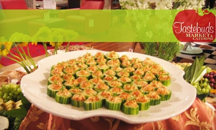 Tastebuds Market and Catering - Fitler Square: $17 for $35 Worth of Party Platters, Gift Baskets, Deli Fare, and More from Tastebuds Market and Catering