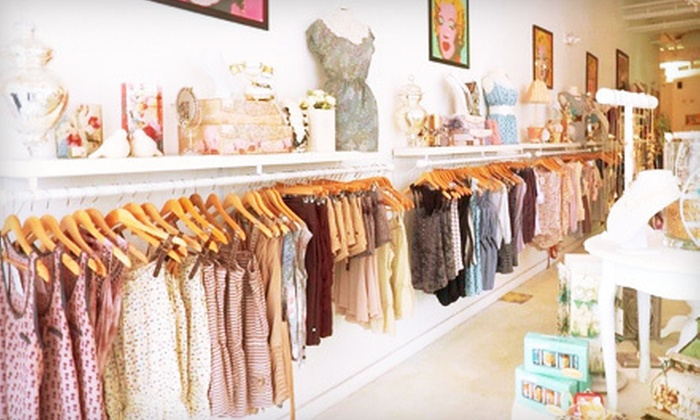 Varga - Multiple Locations: Boutique Apparel and Accessories at Varga (Up to 55% Off). Two Options Available.
