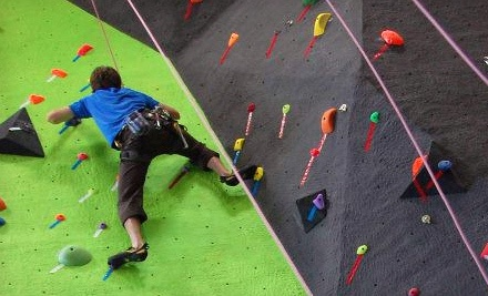Climb 201- Belay On! Climbing Class for One (a $45 value) - The Source Climbing Center in Vancouver