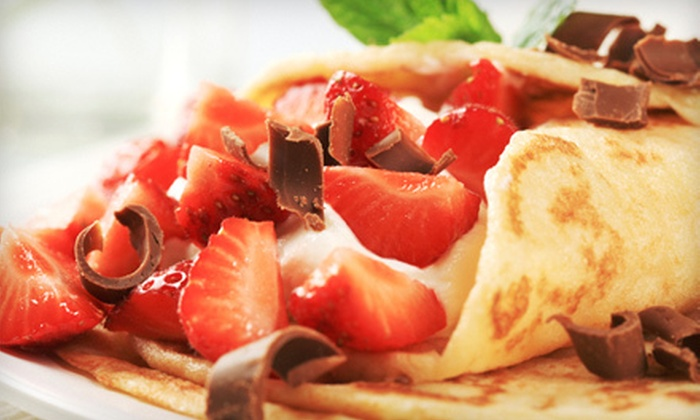 Boba and Crepes - Glendale: $7 for $15 Worth of Crêpes and Drinks at Boba and Crepes in Glendale