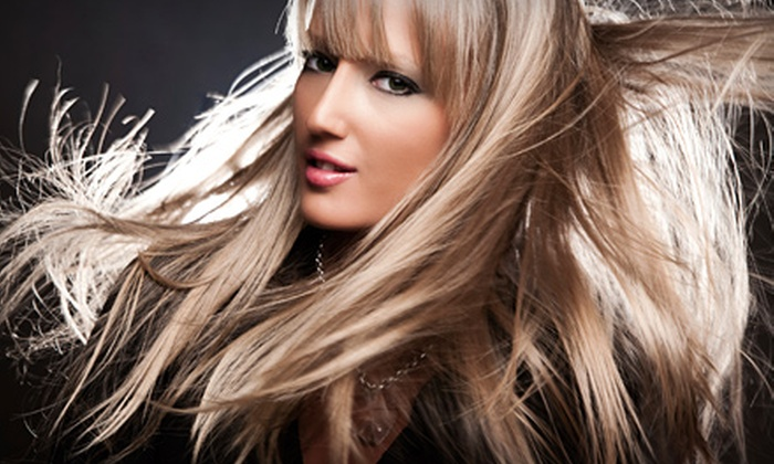 Rain Salon Studios - Las Vegas: $25 for Haircut and Style with Choice of Deep Conditioning or Color Gloss at Rain Salon Studios (Up to $75 Value)