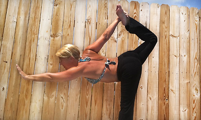 Pink Elephant Yoga - Bardstown: Six Classes or One Private Lesson at Pink Elephant Yoga in Bardstown