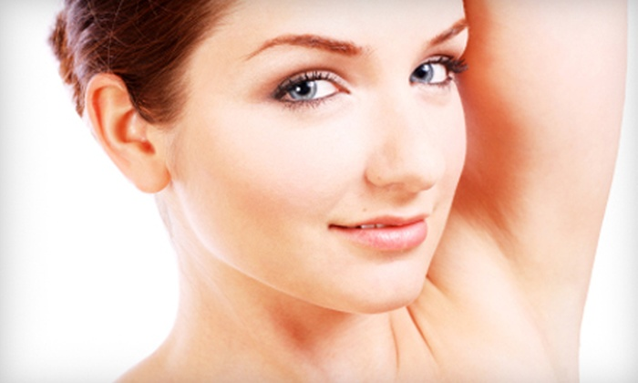 New Face New Body - Canton: Seven Laser Hair-Removal Treatments on Small or Medium Area at New Face New Body in Canton Township