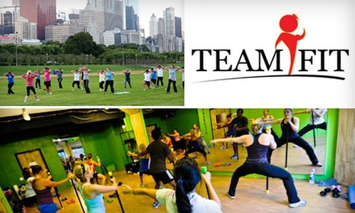 TEAMiFIT - Near North Side: $70 for Two Months of Unlimited Indoor Fitness Classes, Circuit Training, and Exercise Blasts at TEAMiFIT ($183 Value)